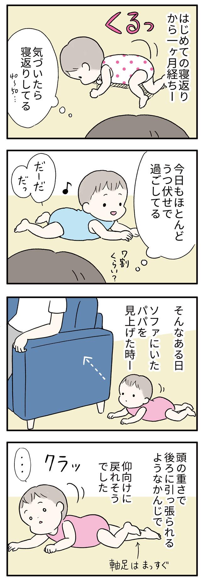 寝返り返り1